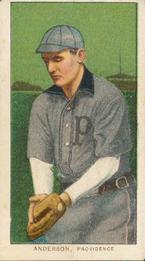 1909-11 American Tobacco Company T206 White Border #NNO John Anderson Front