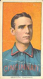 1909-11 American Tobacco Company T206 White Border #NNO Clark Griffith Front