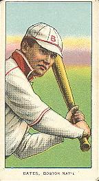 1909-11 American Tobacco Company T206 White Border #NNO Johnny Bates Front