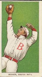 1909-11 American Tobacco Company T206 White Border #NNO Beals Becker Front