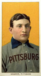 1909-11 The American Tobacco Company T206 White Border #NNO Honus Wagner Front