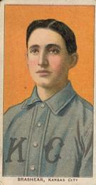 1909-11 American Tobacco Company T206 White Border #NNO Roy Brashear Front