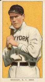1909-11 American Tobacco Company T206 White Border #NNO Jack Warhop Front