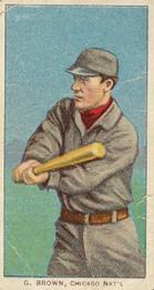 1909-11 American Tobacco Company T206 White Border #NNO George Browne Front