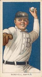 1909-11 American Tobacco Company T206 White Border #NNO Fred Burchell Front