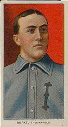 1909-11 American Tobacco Company T206 White Border #NNO Jimmy Burke Front