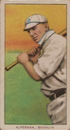 1909-11 American Tobacco Company T206 White Border #NNO Whitey Alperman Front