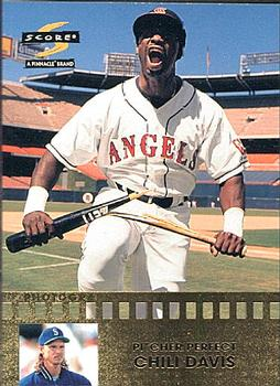 1997 Score - Pitcher Perfect #8 Chili Davis Front