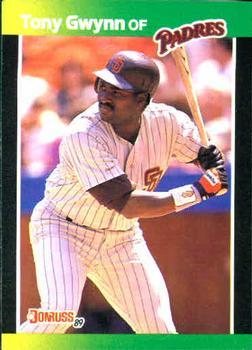 1989 Donruss Baseball's Best #42 Tony Gwynn Front