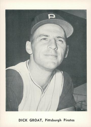 1961 Jay Publishing All-Stars #NNO Dick Groat Front