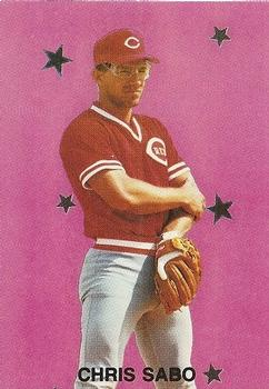 1989 Major League All-Stars Series 2 (unlicensed) #2 Chris Sabo Front