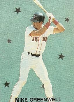 1989 Broder Major League All-Stars Series 2 (unlicensed) #3 Mike Greenwell Front
