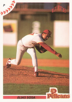 1990 Elite Senior League #14 Elias Sosa Front