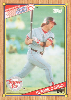 1989 Topps Senior League #13 Bernie Carbo Front