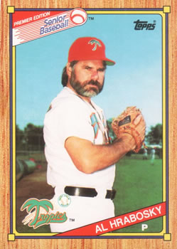1989 Topps Senior League #15 Al Hrabosky Front