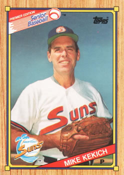 1989 Topps Senior League #62 Mike Kekich Front