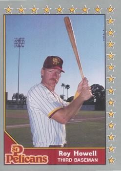 1990 Pacific Senior League #12 Roy Howell Front