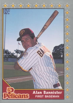 1990 Pacific Senior League #14 Alan Bannister Front