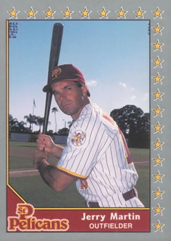 1990 Pacific Senior League #6 Jerry Martin Front