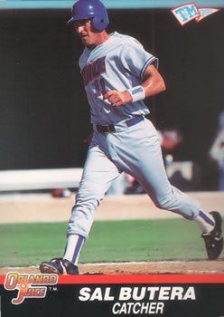 1989-90 T&M Senior League #15 Sal Butera Front