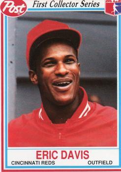 1990 Sports Illustrated for Kids Series 1 #140 Eric Davis Cincinnati Reds Card