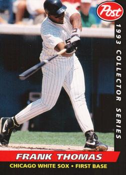1993 Post Cereal #14 Frank Thomas Front