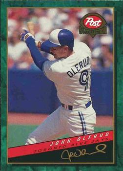 1994 Post Cereal #24 John Olerud Front