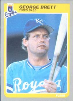George Brett Baseball Cards Collection By Miguel The Trading Card