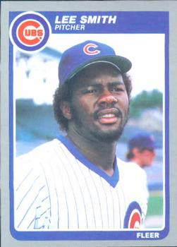 1985 Fleer #67 Lee Smith Front