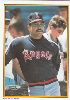 1987 Topps - Glossy Send-Ins #54 Reggie Jackson Front