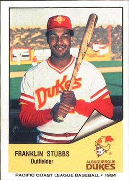 Franklin Stubbs Gallery The Trading Card Database