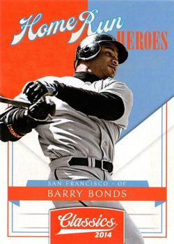 2014 Panini Classics - Home Run Heroes #22 Barry Bonds Front