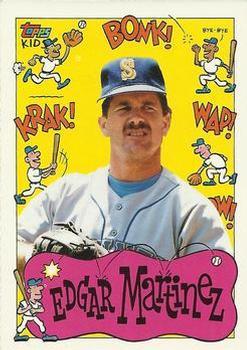 1992 Topps Kids #125 Edgar Martinez Front