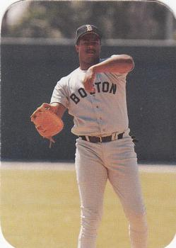 1986 Boston Red Sox Photo Cards Series I & II #10 Sam Horn Front
