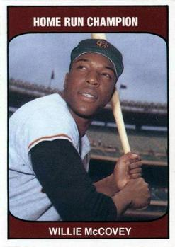 1985 TCMA Home Run Champions #NNO Willie McCovey Front