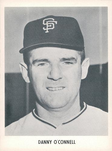 1958 Jay Publishing San Francisco Giants #NNO Danny O'Connell Front