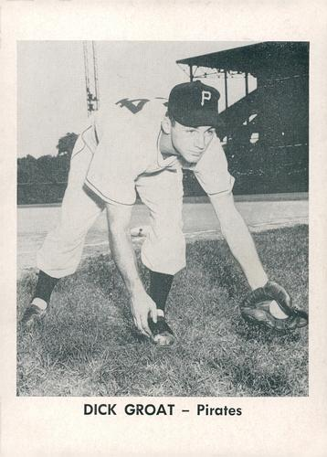1956 Jay Publishing Pittsburgh Pirates #NNO Dick Groat Front