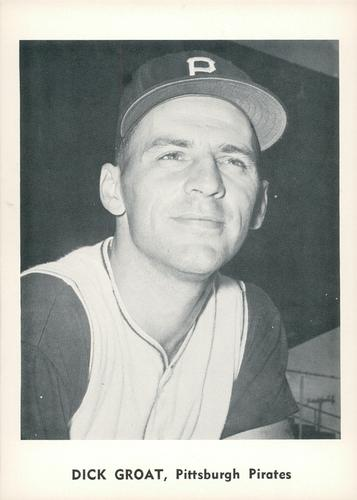 1961 Jay Publishing Pittsburgh Pirates #NNO Dick Groat Front