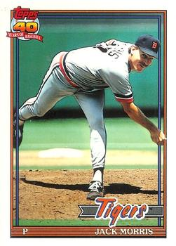1991 Topps - Tiffany #75 Jack Morris Front