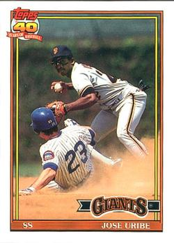 Jose Uribe Gallery The Trading Card Database