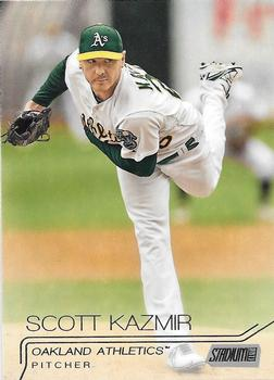 2015 Stadium Club #19 Scott Kazmir Front