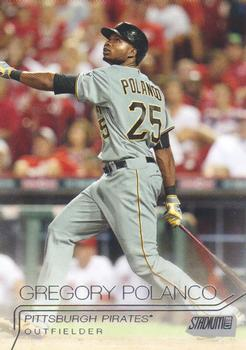 2015 Stadium Club #41 Gregory Polanco Front