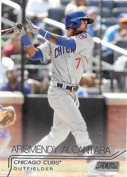 2015 Stadium Club #291 Arismendy Alcantara Front