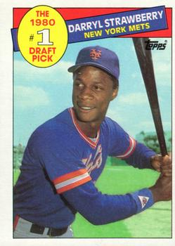 1985 Topps #278 Darryl Strawberry Front