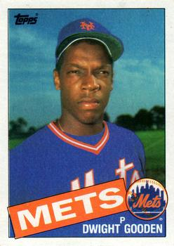1985 Topps #620 Dwight Gooden Front