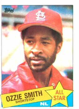 1985 Topps #715 Ozzie Smith Front