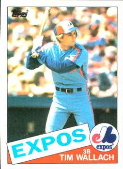 1985 Topps #473 Tim Wallach Front