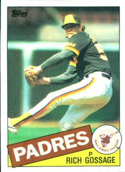 1985 Topps #90 Rich Gossage Front