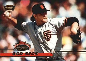 1993 Stadium Club - Members Only #81 Rod Beck Front