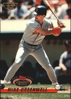 1993 SP #202 Mike Greenwell MLB Baseball Trading Card